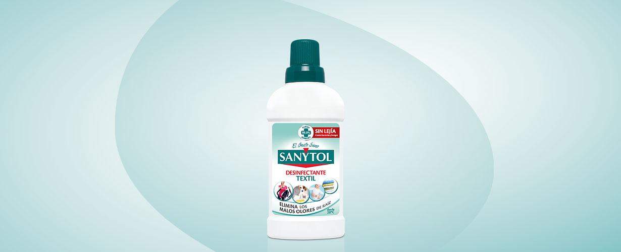 La única forma de eliminarlos es a través de fórmulas desinfectantes como Sanytol Desinfectante Textil…