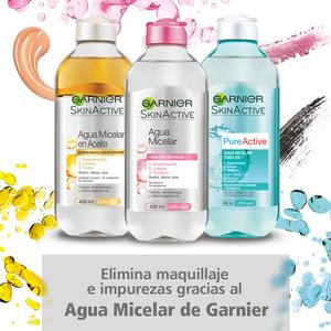 La gama de Agua Micelar de SkinActive