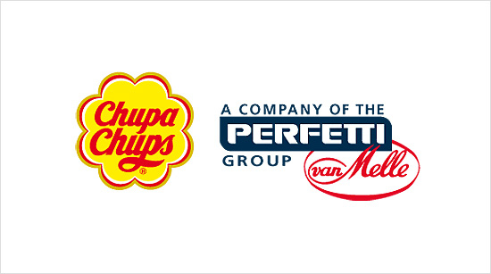 … pertenecen a la marca Chupa Chups, propiedad de la multinacional Perfetti-Van Melle (Mentos, Fruittella, Gollia, Happydent…).