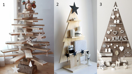 Sapins de Noël alternatifs