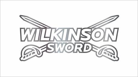 ... la marque des rasoirs Wilkinson !