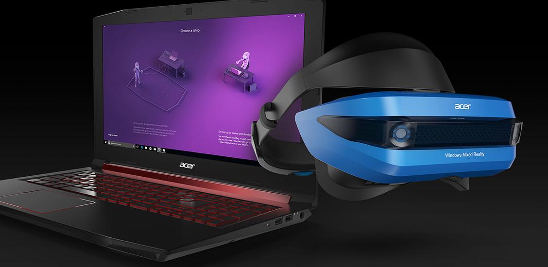 L'innovation Acer : le casque de réalité Mixte Windows