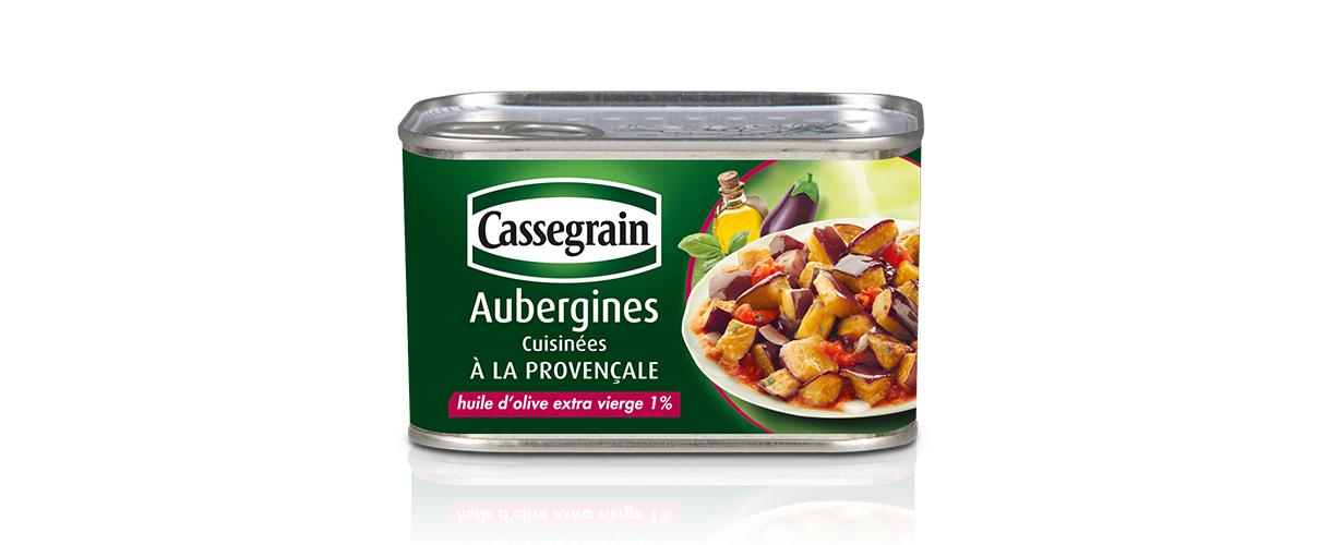 L'équipe Cassegrain invite 3 000 trnders à participer à ce projet gourmand autour de sa recette d'Aubergines cuisinées à la Provençale !