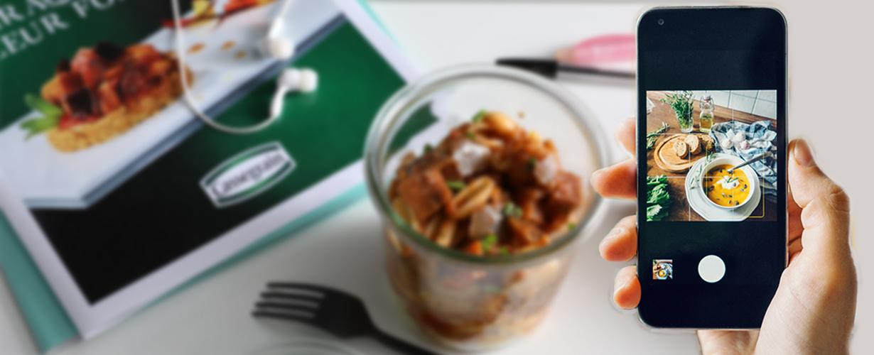 Mission n°2 : après avoir pris le temps de déguster cette recette Cassegrain, nous devrons partager notre avis en ligne avec les amateurs de cuisine, foodies et gourmands du web !