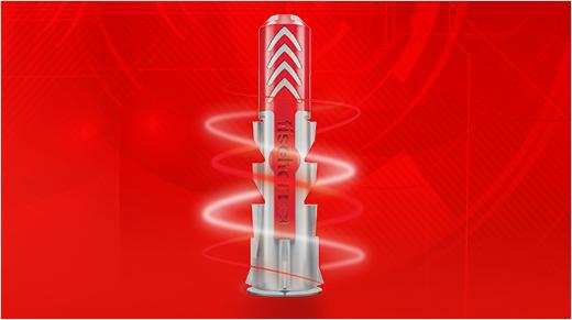 Découvrons fischer DUOPOWER, la 1ère cheville bi-matière compatible avec tout type de matériau.