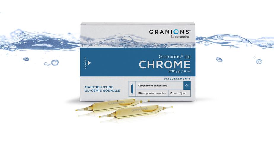 GRANIONS de Chrome