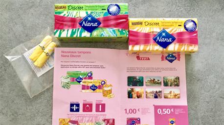 Pack de bienvenue Nana Discret