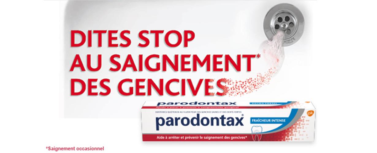 <CENTER>Grâce au projet Parodontax®  Fraîcheur Intense, 10 000 trnders vont avoir l'opportunité de découvrir ce dentifrice quotidien qui aide à arrêter et prévenir le saignement occasionnel des gencives.</CENTER>