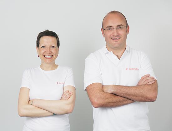 Les deux fondateurs : Guillemette & Fabien.