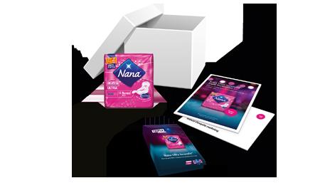 Pack de bienvenue Nana Ultra SecureFit™