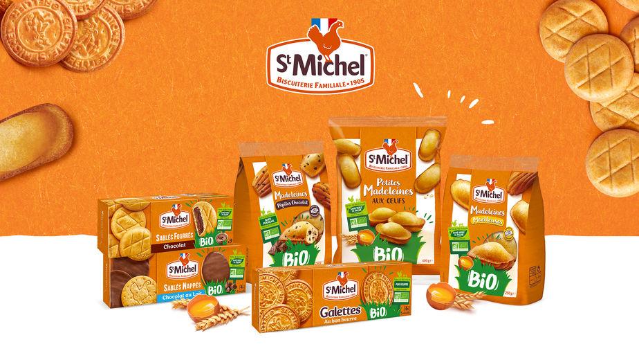 nouvelle gamme Bio St Michel