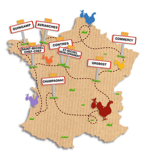Carte site St Michel