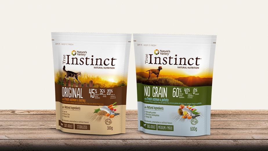 Découvre les produits de la gamme True Instinct !