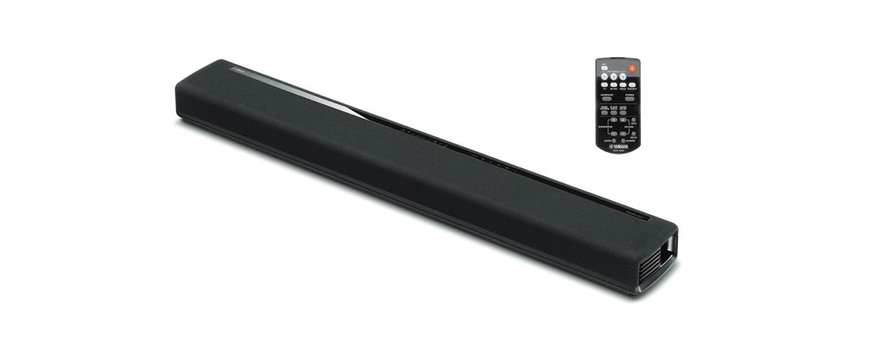 Le design élégant de la barre de son Yamaha MusicCast YAS-306  prend en charge le son surround 7 canaux et cinq modes surround différents.