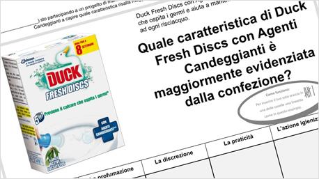 duck fresh discs con agenti candeggianti indagine confezione