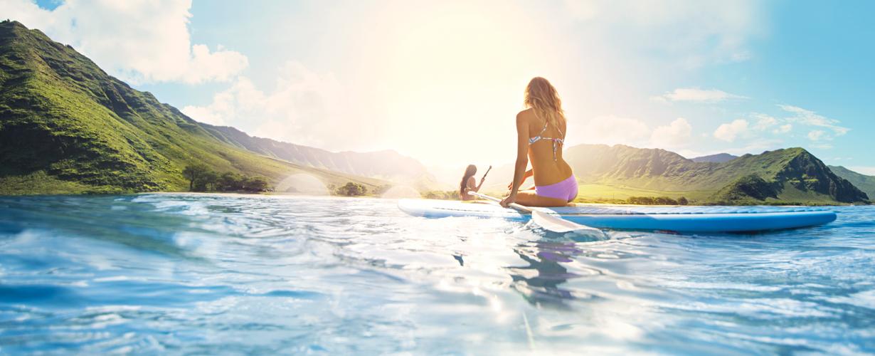 Anticipiamo l'arrivo dell' #EstateHawaiian trasportandoci direttamente al cuore delle Hawaii