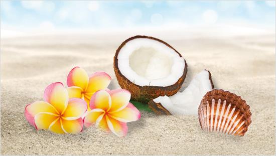 … che contiene tutti gli ingredienti tipici delle Hawaii…