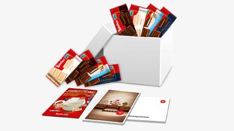 Lo starter kit del progetto con il Cioccolato Loacker