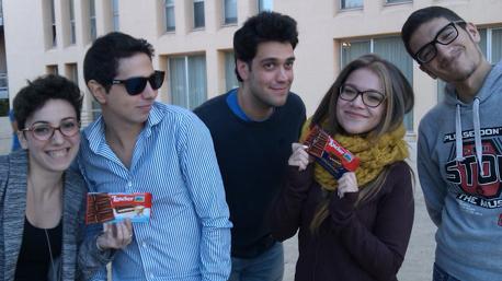 trnder banana ha portato il Cioccolato all'università