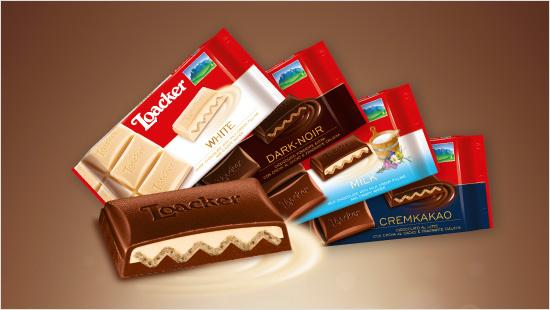 Dall'esperienza Loacker nasce il Cioccolato Loacker: cioccolato, crema e wafer…