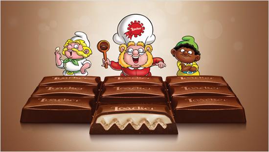 …in una nuova forma di bontà. Il Cioccolato Loacker è disponibile in quattro gusti…