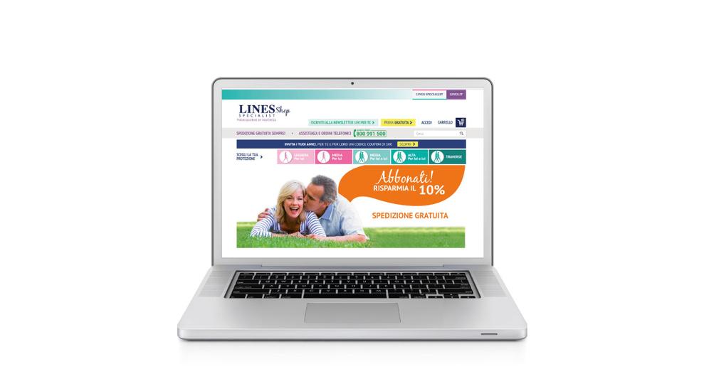 Nello starter kit troveremo inoltre 30 buoni sconto da distribuire alle nostre amiche, parenti e conoscenti da utilizzare sul LINES Specialist Shop online.