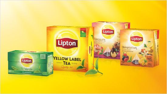 Lipton offre il tè ideale per ogni momento della giornata…