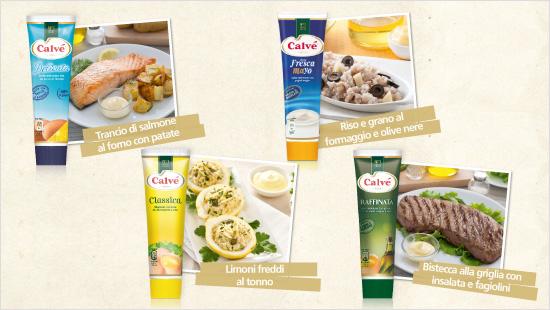 Ogni maionese Calvé è perfetta per essere abbinata a tipologie di piatti differenti e per creare tante ricette sfiziose!