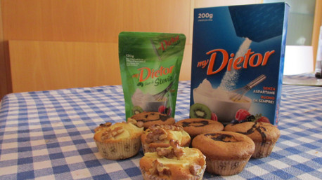Festa dell'associazione in oratorio: ecco i muffin che trnder 1abcd ha preparato con myDietor Sfuso.
