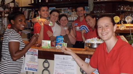 Nel bar dove lavora, trnder pupy84, ha distribuito i campioni di myDietor e tutti i clienti erano entusiasti!