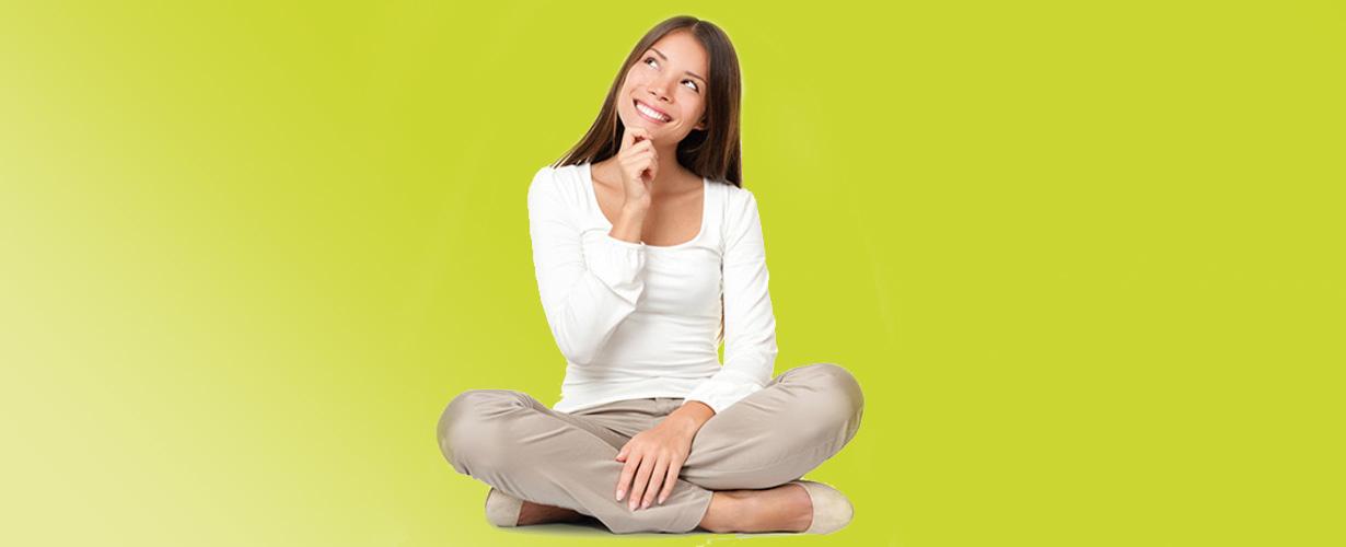 …e con lo strato inferiore traspirante che assicura il naturale equilibrio di una donna.