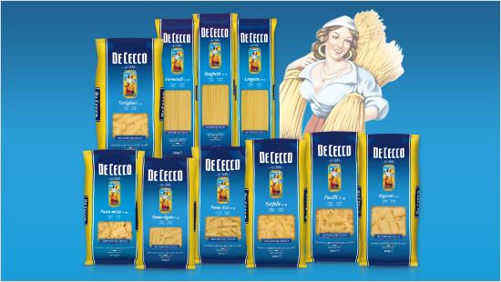 Dal 1886, De Cecco produce una pasta di  alta qualità che unisce il meglio dell'antica  tradizione pastaia…
