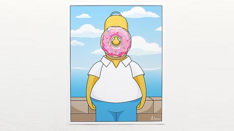 Niemand houdt meer van donuts dan … Bron: etsy.com/nl/listing/158615517/8-x-10-zoon-van-abraham-art-print