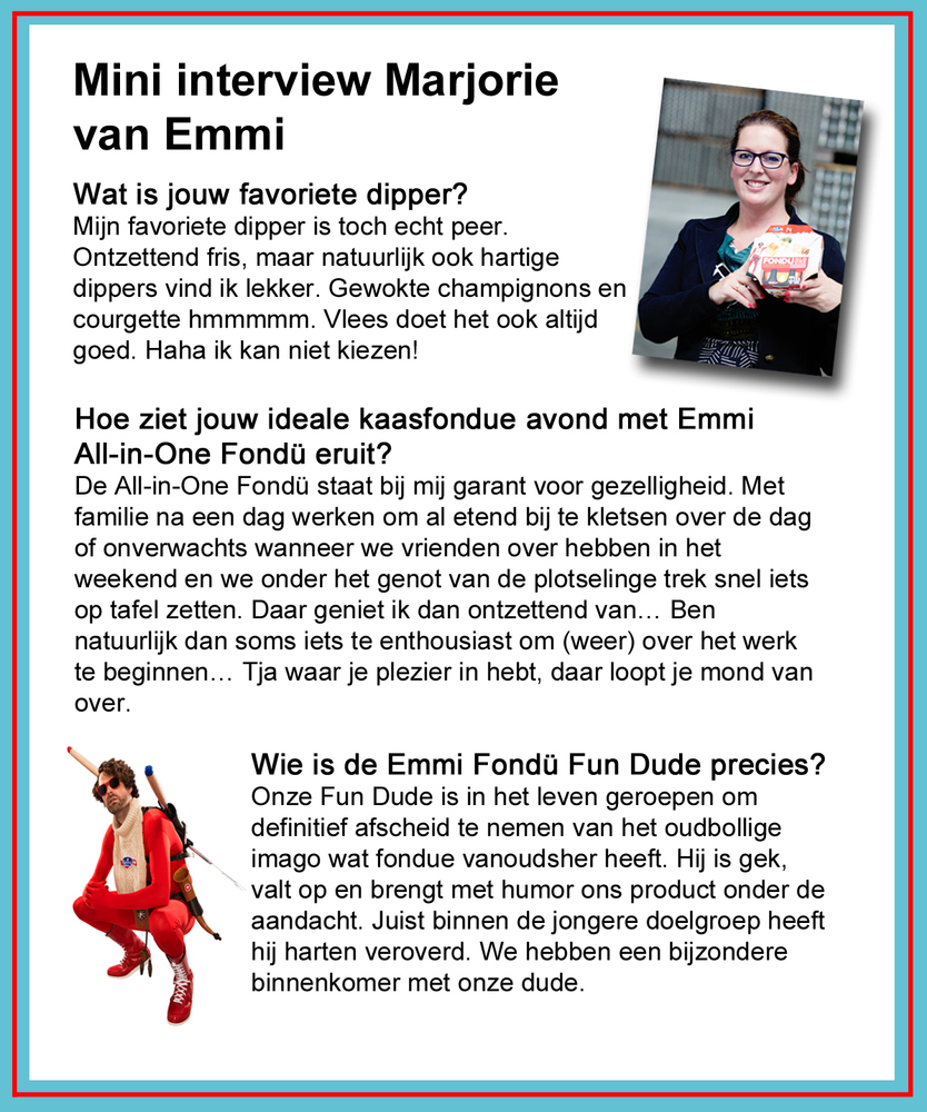 Mini interview met Marjorie