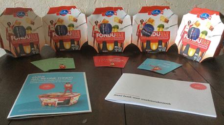 De Emmi All-in-One Fondü startpakketten worden bezorgd!