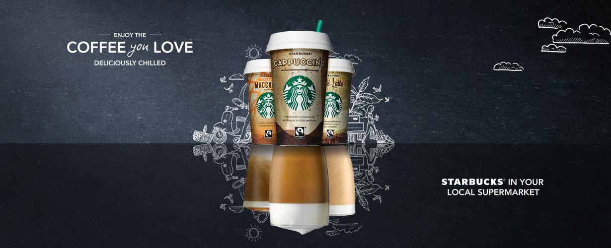 Iedere koffiedrinker vindt wel zijn favoriete koffie in het brede Chilled Classics assortiment voor een verfrissend Starbucks verwenmoment.
