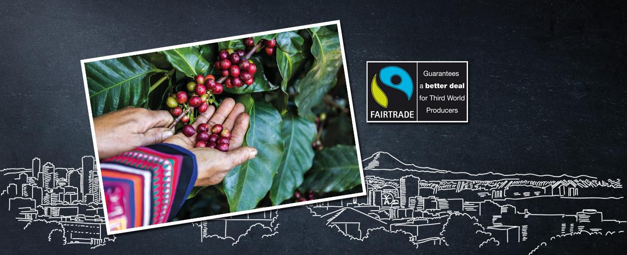 … samen met Conservation International om ervoor te zorgen dat de koffie op een ethisch verantwoorde manier wordt verbouwd en ingekocht.