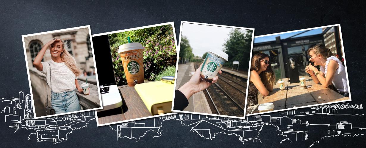 … de verschillende varianten van Starbucks Chilled Classics uitproberen, bekendmaken en stijlvolle foto's delen op social media met #chilledclassics. Doe je mee?