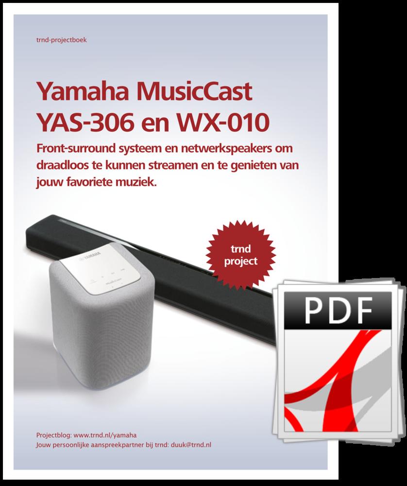 Projectboek Yamaha
