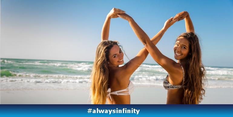 Nieskończoność z Always Infinity