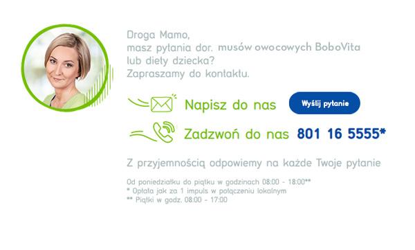 Skontaktuj się z BoboVita!