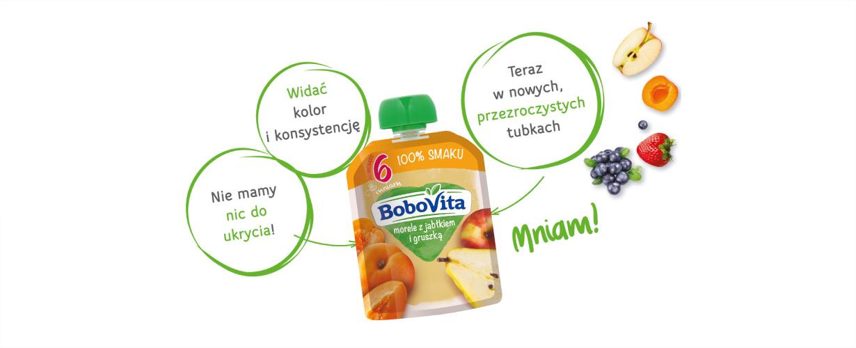Podając dziecku mus owocowy BoboVita w tubce możesz być pewna, że Twoje dziecko jest bezpieczne.