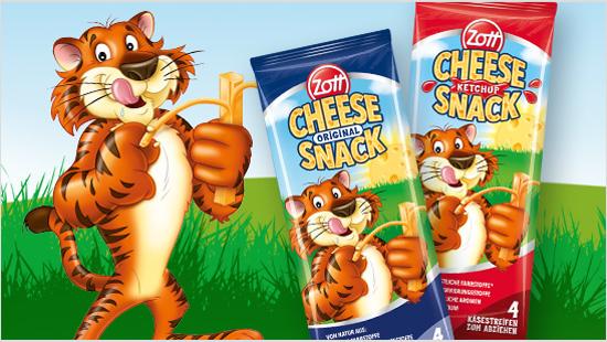 Cheese Snack to pyszna przekaska serowa dla dzieci, dostepna w dwóch smakach – original <br /> i ketchup.