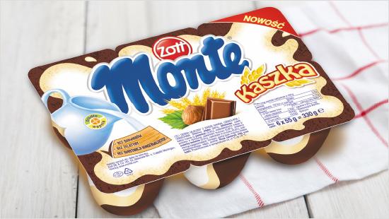 W projekcie Monte Kaszka 5000 Ambasadorów wypróbuje nowość od Zott - pyszne połączenie klasycznego smaku Monte i pożywnej kaszki!