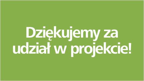 Dziękujemy za udział w projekcie Zalando!