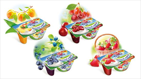 Znalezione obrazy dla zapytania jogurt naturalny z dodatkami zott