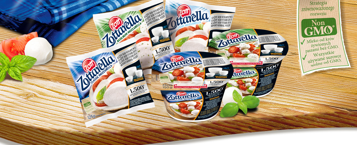 Zottarella bez GMO