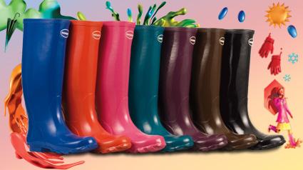 Coloridas Havaianas Rain Boots Helios High Cut
