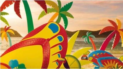 Havaianas Rain Boots próximo destino Brasil