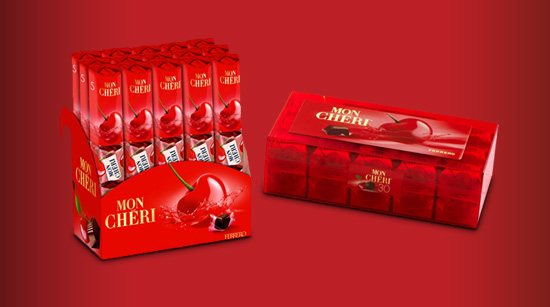 Seremos 1.000 trnders a saborear Mon Chéri. Para além de uma elegante caixa de 30 pralinés, teremos 15 bolsas com 5 bombons cada…